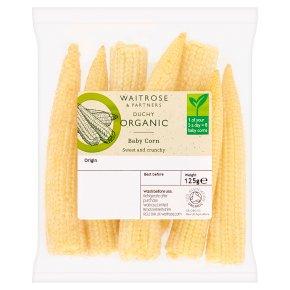 Waitrose Duchy Organic baby corn