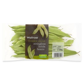 Waitrose stringless helda beans