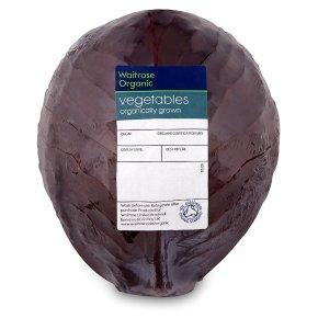 Waitrose Duchy Organic red cabbage