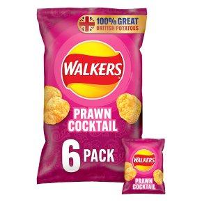 Walkers prawn cocktail multipack crisps
