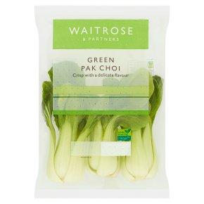 Waitrose green pak choi