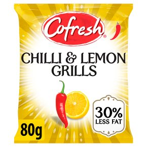 Cofresh pot snacks - chilli & lemon