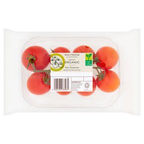 Waitrose Duchy Organic vine tomatoes