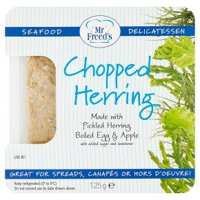 Mr Freed's chopped herring salad