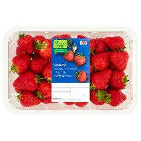 Waitrose sweet and juicy strawberries
