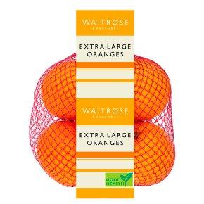 Extra Large Oranges