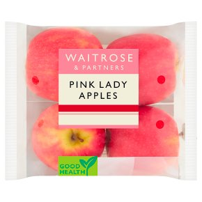Waitrose Pink Lady apples