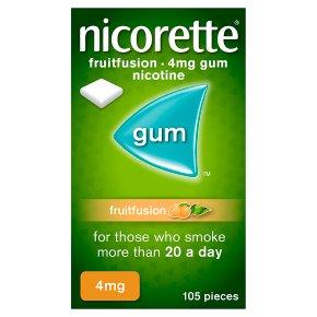 Nicorette freshfruit fullstrength 4mg gum