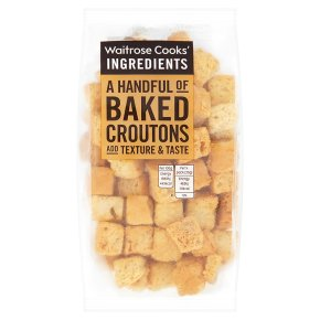 Waitrose Cooks' Ingredients baked croutons