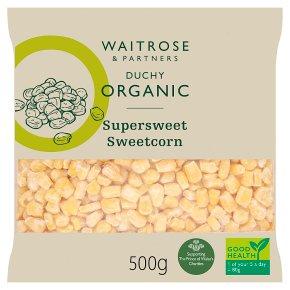 Waitrose Duchy Sweetcorn