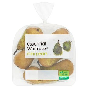 essential Waitrose mini pears
