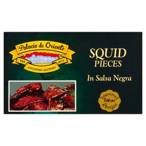 Palacio de Oriente squid pieces in sauce