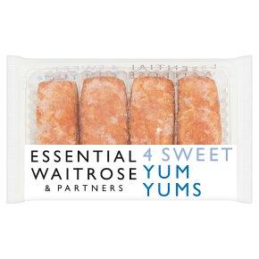 essential Waitrose sweet yum yums