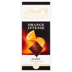 Lindt Excellence Orange Intense Dark