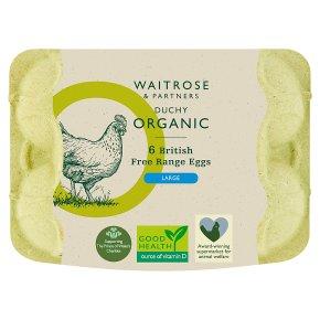 Waitrose Duchy Organic large free range eggs