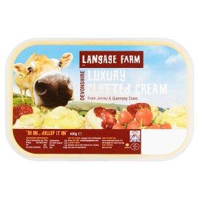 Langage Farm clotted cream