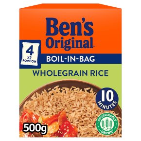 Uncle Ben's boil in bag wholegrain rice