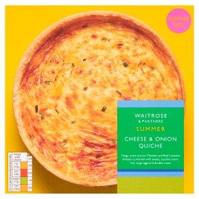 Waitrose Extra Mature Cheddar & Onion Quiche
