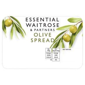 essential Waitrose olive spread