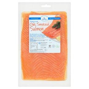 Mr Freed's oak smoked salmon