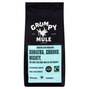 Grumpy Mule Fair Trade Organic Sumatra coffee