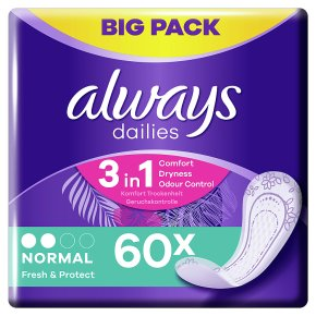 Always Dailies Normal Panty Liners