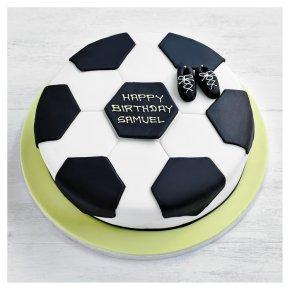 25cm Football Cake