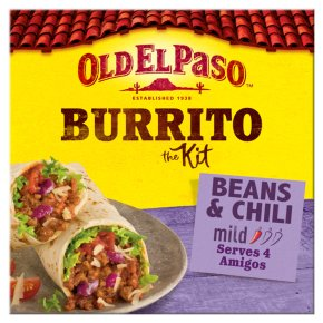 Old El Paso Beans & Chilli Burrito Kit