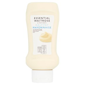 essential Waitrose half fat squeezy mayonnaise