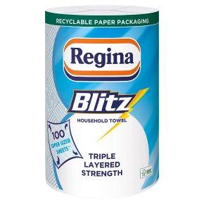 Regina blitz 3 ply kitchen towels