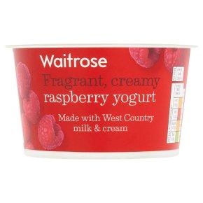 Waitrose Raspberry Yogurt