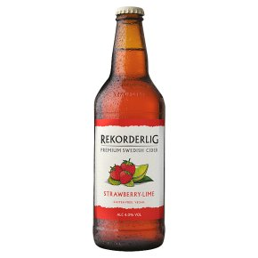 Rekorderlig premium Swedish strawberry & lime cider