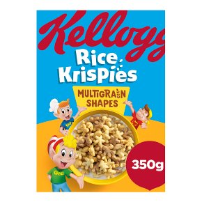 Kellogg's Rice Krispies Multigrain Shapes Cereal