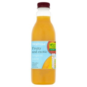 Waitrose tropical juice