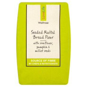 Waitrose LoveLife Calorie Controlled seeded & malted bread flour