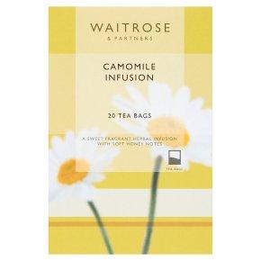 Waitrose Camomile Infusion 20 Tea Bags