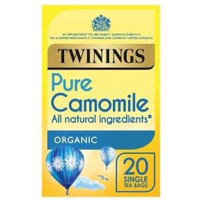 Twinings organic camomile 20 tea bags