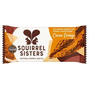 Squirrel Sisters Cacao Orange Raw Energy Bar