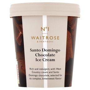 Waitrose 1 Santo Domingo chocolate ice cream