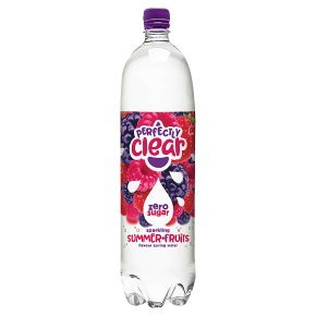 Perfectly Clear summer fruits sparkling