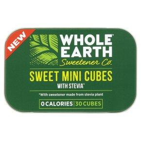 Whole Earth 30 Sweet Mini Cubes with Stevia