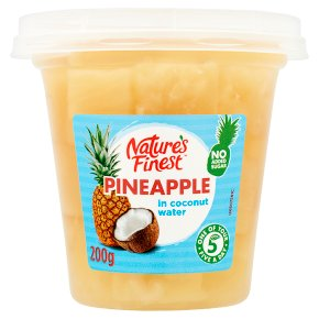Nature's Finest Pineapple in Coconut Water