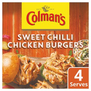 Colman's Chilli Chicken Burgers