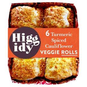 Higgidy Turmeric Cauliflower Veggie Rolls