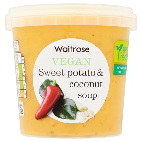 Waitrose Vegan Sweet Potato & Coconut Soup