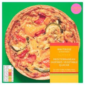 Waitrose Mediterranean Vegetable Quiche
