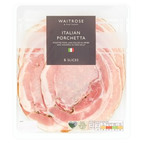 Waitrose Porchetta 6 slices