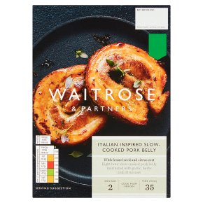 Waitrose Italian Slow-Cooked Pork Belly