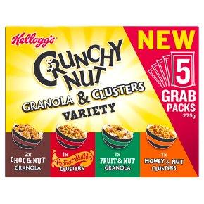 Kellogg's Crunchy Nut Granola & Clusters Variety