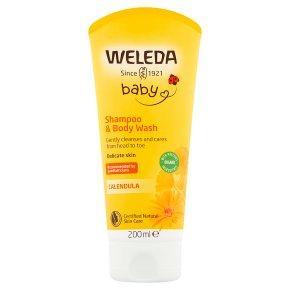 Weleda Baby calendula shampoo & body wash